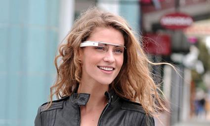 Gli occhiali marchiati Google