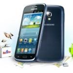 Samsung i8262 Galaxy Core Smartphone, Dual SIM, 5 Megapixel, Display 4.3, Wi-Fi, GPS, Blu