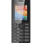 Nokia 108 Telefono Cellulare, Dual SIM, Bianco [Italia]