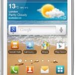 Samsung Galaxy Ace II Smartphone, Bianco [Italia]