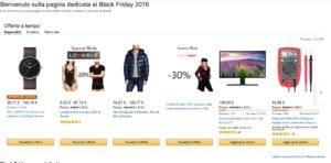 Amazon Black Friday Saldi Sconti 80